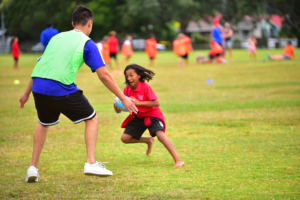Apanui students touch